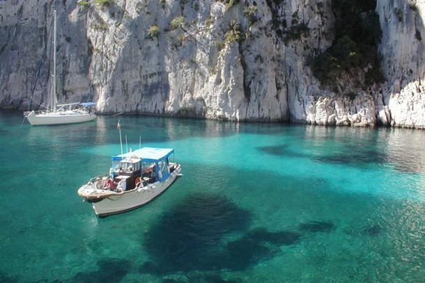 Средиземноморские фьорды, Франция