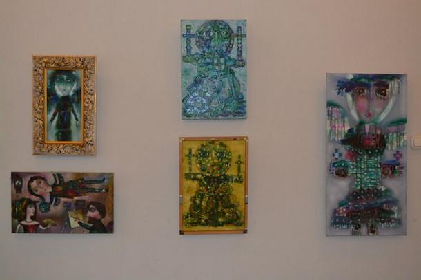 Чайковская картинная галерея, выставка Ангелы