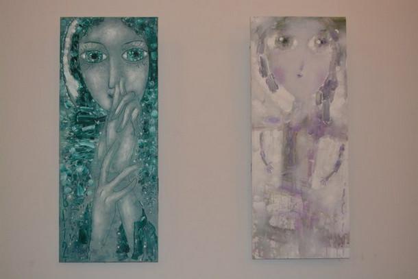 Чайковская картинная галерея, работы Владимира Сергачева