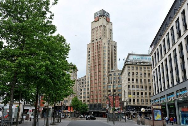 Фермерская башня в Антверпене