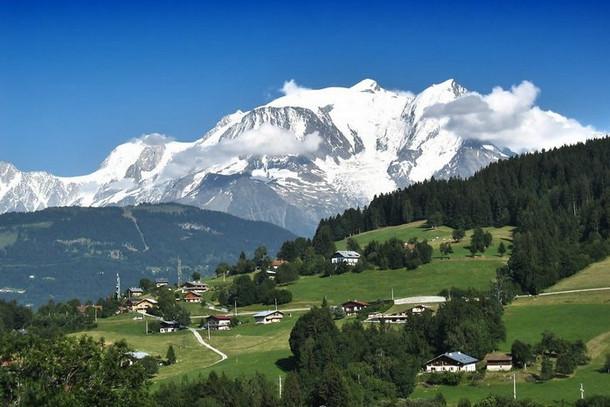 Монблан, Французские Альпы