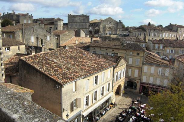 Городок Сент-Эмильон, Франция