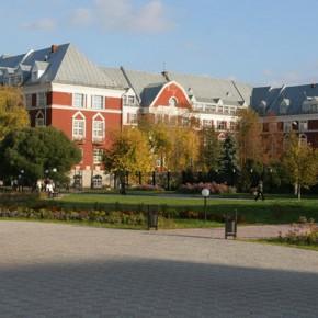Студенческий городок Пермского университета