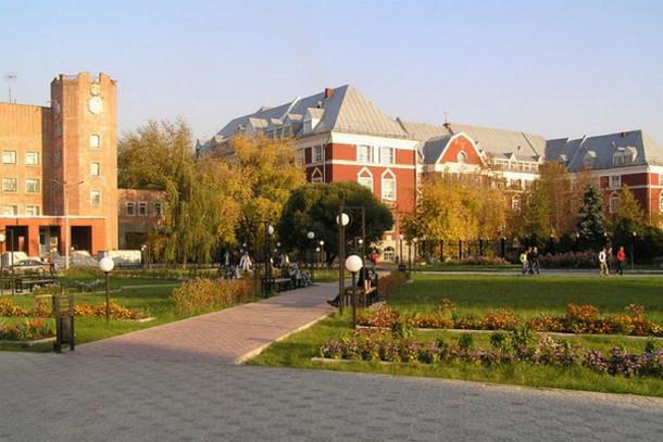 Кампус пермской альма-матер