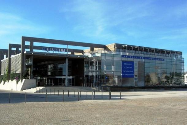 Здание аквариума Ла-Рошели