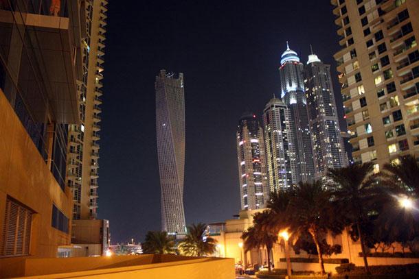 «Крученое» здание в Дубаи