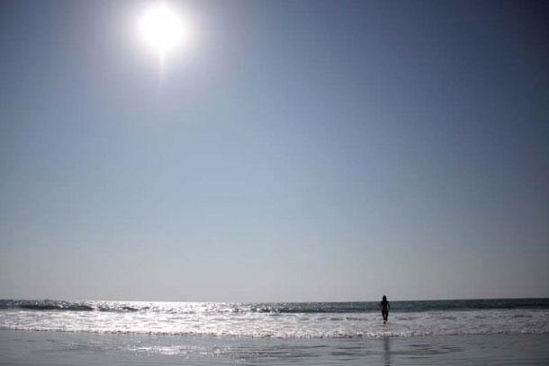 Море без краев и туристов…