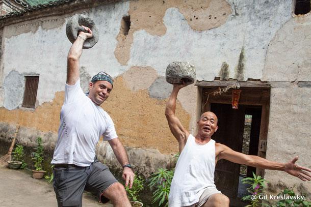 В гостьях у мастера кунг-фу в Китае