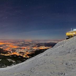 Гора Снежка в Чехии