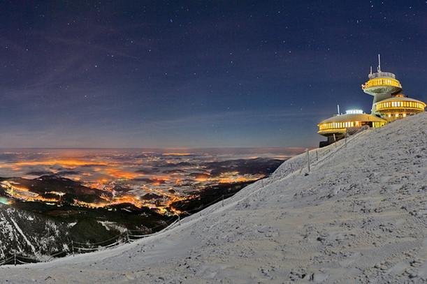 Гора Снежка, Чехия
