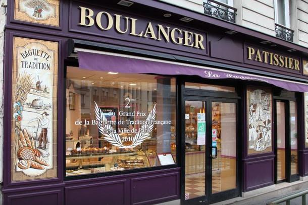 Булочная Парижанина, Франция, Париж