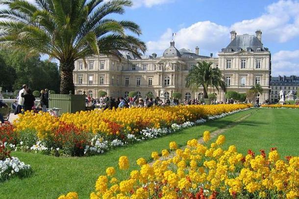 Латинский квартал, Люксембургский сад, Париж