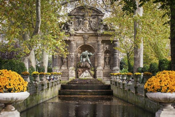 Фонтан Медичи в Люксембургском саду, Париж