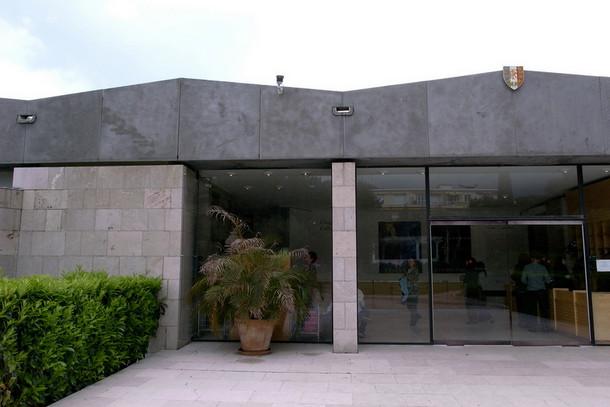 Вход в Музей Марка Шагала, Ницца, Франция