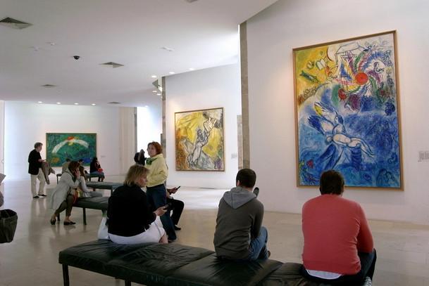 Сцены из Ветхого Завета в Музеи Марка Шагала, Ницца