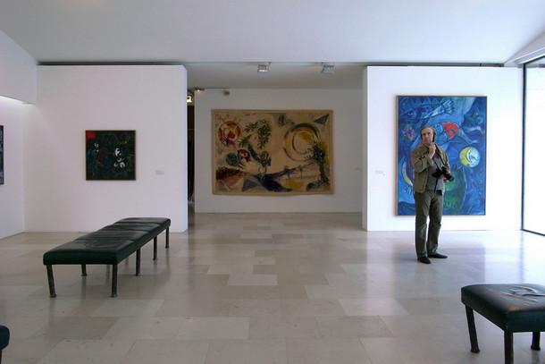 Музей Марка Шагала в Ницце, Франция