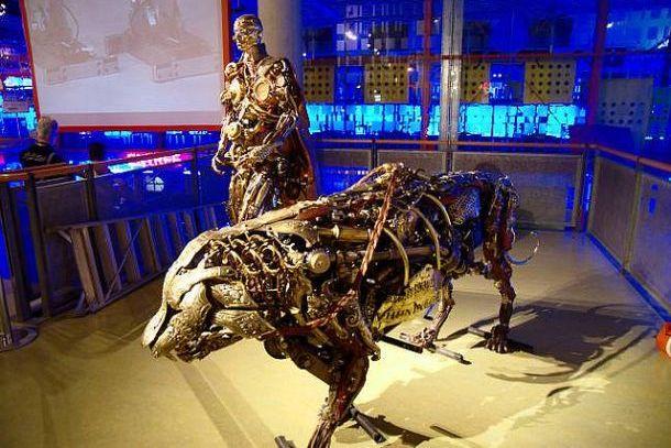 Экспонаты музея Немо