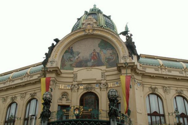 Общественный дом, Прага