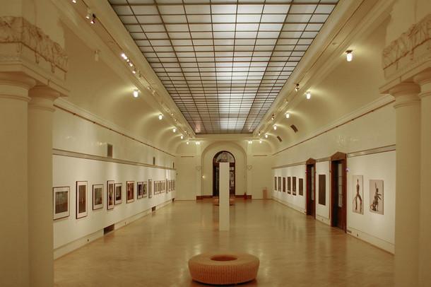 Общественный дом в Праге, картинная галерея