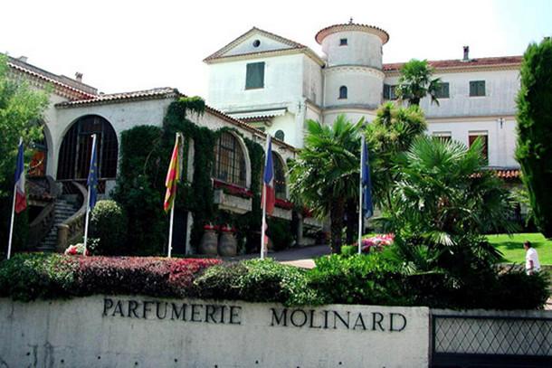 Парфюмерный дом Molinard в Каннах