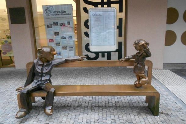 Памятник Спейбла и Гурвинека, Прага