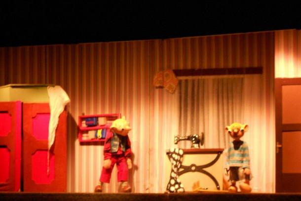 Спектакль в театре Спейбла и Гурвинека, Прага