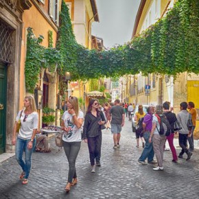 Трастевере – романтичный квартал Рима