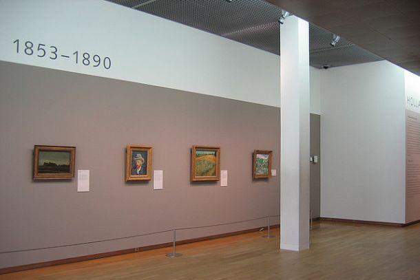 Зал с картинами Ван Гога