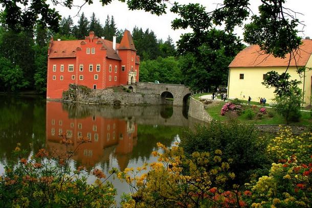Замок Червена Лгота, Чехия