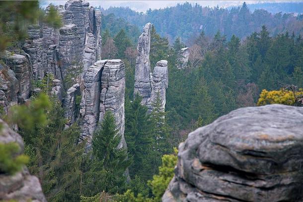 Праховские скалы. Заповедник Чешский рай
