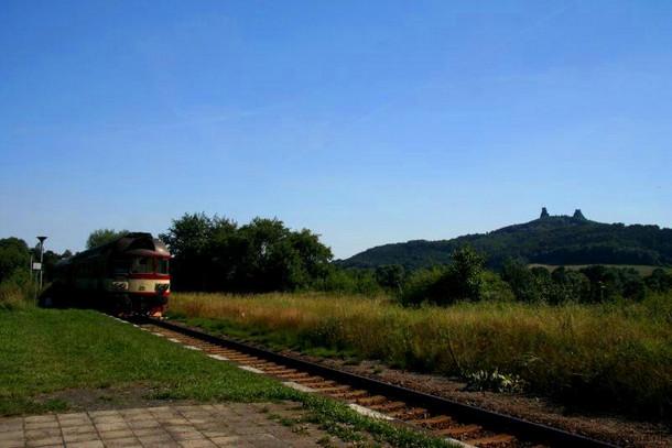 Крепость Троски. Заповедник Чешский рай