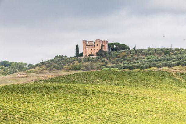 Замок Кастелло делле Кватро Торра