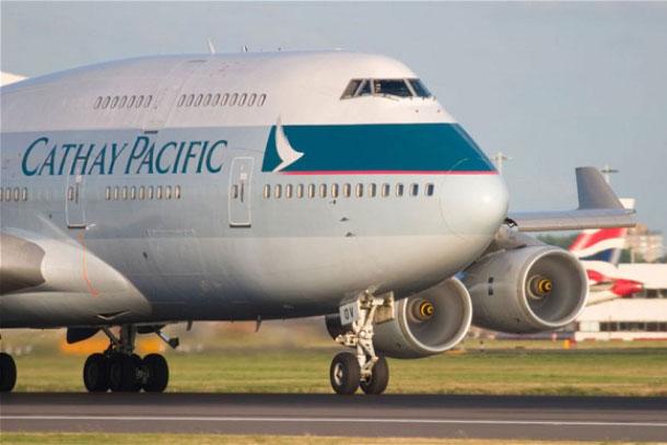 Самолет Cathay Pacific