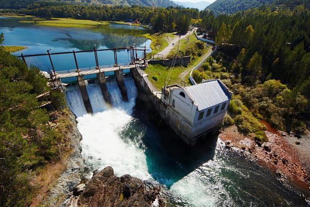 Чемальская ГЭС – одна из старейших в России