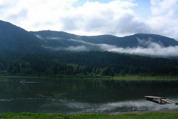 Гора Малая Синюха на Алтае