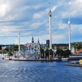 Грена Лунд – парк аттракционов в Стокгольме