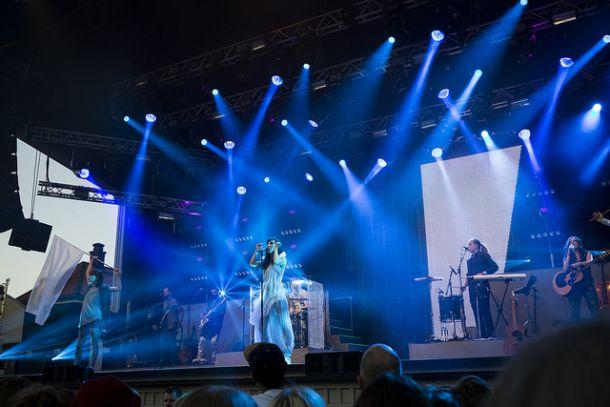 Концерт в парке Грена Лунд