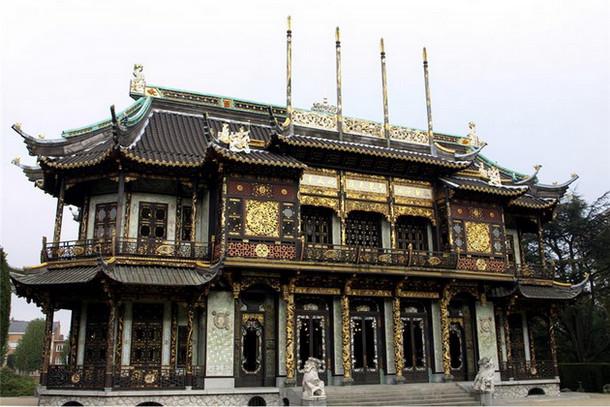 Китайский павильон, Королевский замок Лакен, Брюссель
