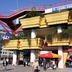 Рынок Lehel в Будапеште