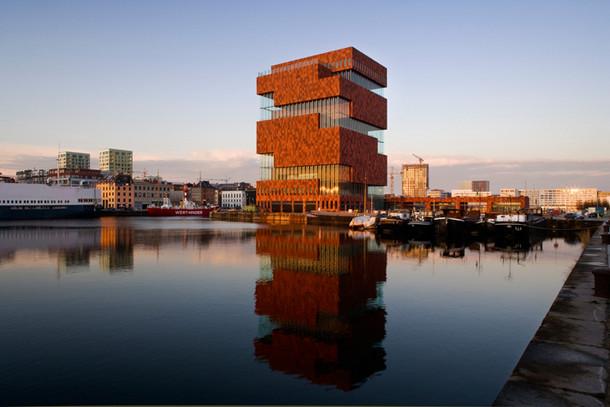 MAS – музей на реке в Антверпене