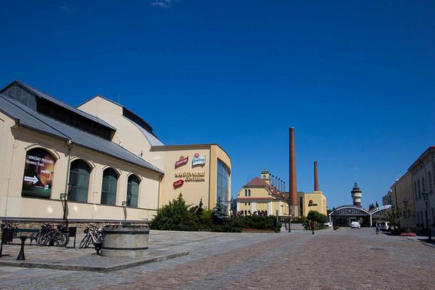 Пивоваренный завод в Пльзене