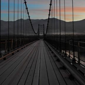 Подвесные мосты на Алтае
