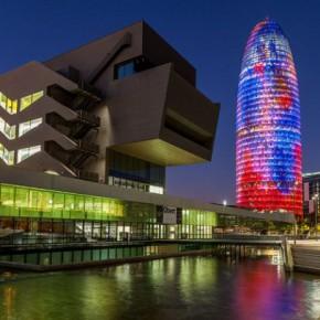Башня Агбар – 34-этажный небоскреб Барселоны