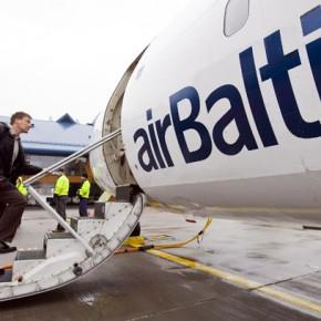 Распродажа авиабилетов в Европу от AirBaltic