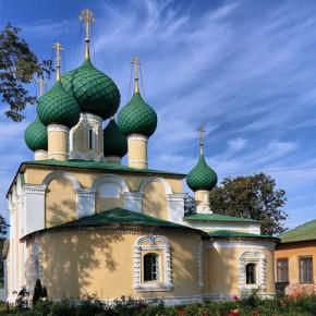 Алексеевский женский монастырь в Угличе