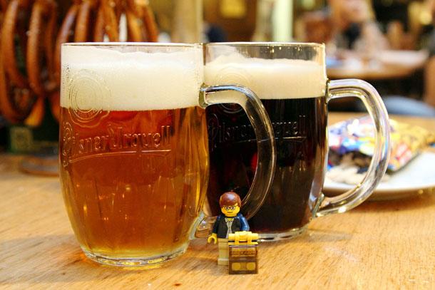 чешское пиво на фестивале