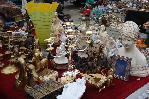 Блошиный рынок в Брюгге