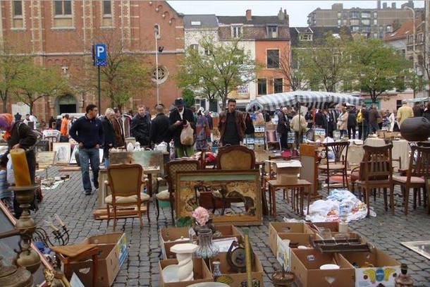 Блошиный рынок антиквариата, Брюгге