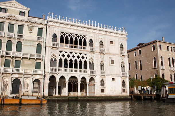 Дворец Ка' д'Оро (Золотой дом) в Венеции