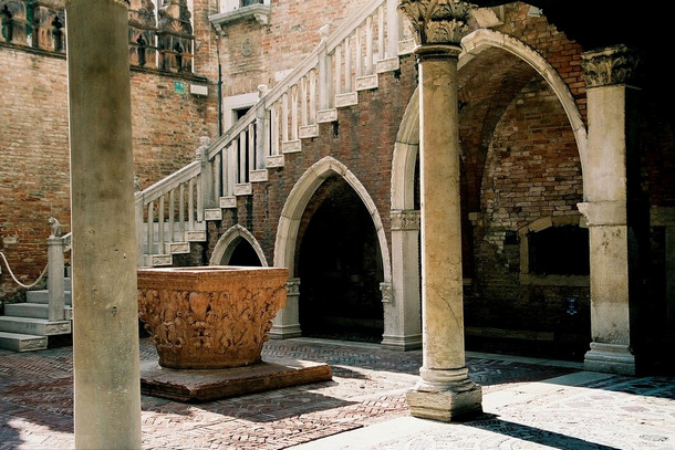 Дворец Ка' д'Оро, Венеция, Италия